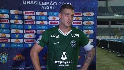 Rafael Moura dedica gol à mãe, que faleceu de câncer
