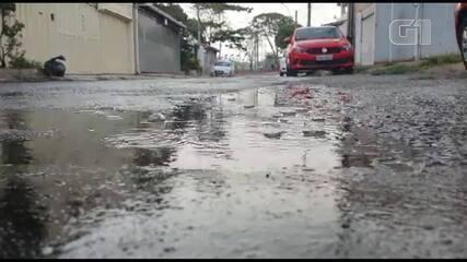 Moradores da Candangolândia registram chuva