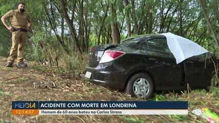 Homem de 60 anos morre em acidente na Rodovia Carlos Strass