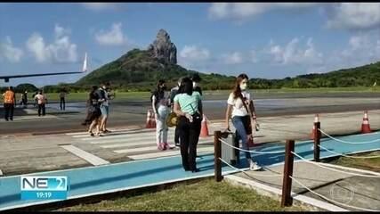 Noronha amplia turismo e recebe quem não teve Covid-19