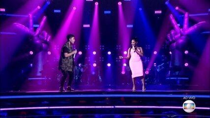 Paulo Gomiz e Simaria cantam 'Raspão'