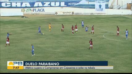 Confira como foi a vitória do Atlético-PB sobre o Campinense no Perpetão