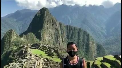 Turismo na pandemia: depois de 7 meses no Peru, japonês visita Machu Picchu sozinho