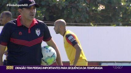 Atlético-GO volta a ser comandado pelo auxiliar Eduardo Souza