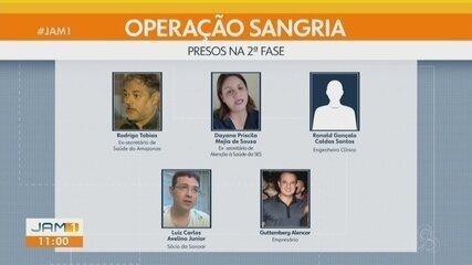 Operação Sangria: Justiça determina prorrogação de prisão temporária de detidos