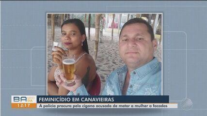 Homem acusado de matar companheira em Canavieiras é procurado pela policia