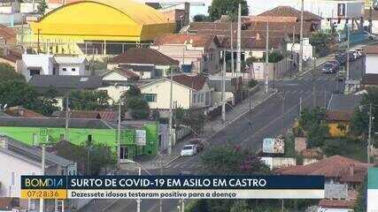 17 idosos testam positivo em asilo de Castro