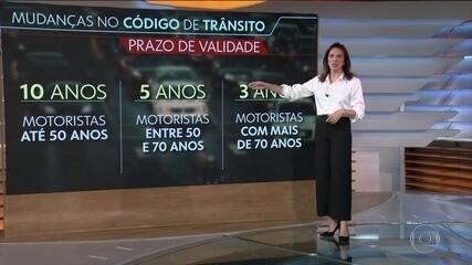 Com um veto, Bolsonaro sanciona lei que altera o Código de Trânsito