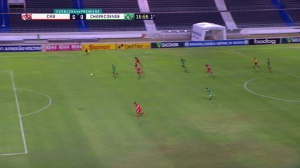 Melhores momentos: CRB 0 x 1 Chapecoense pela 9ª rodada do Brasileirão Série B