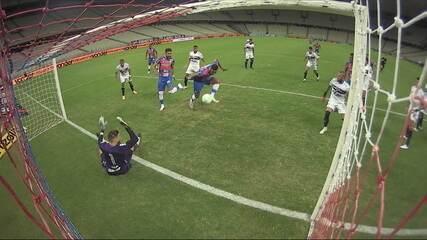 Melhores momentos: Fortaleza 3 x 3 São Paulo, pela Copa do Brasil