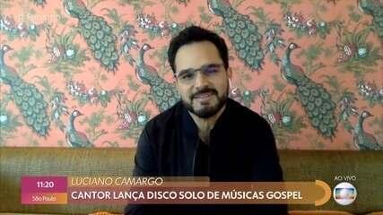 Luciano lança disco solo de música gospel