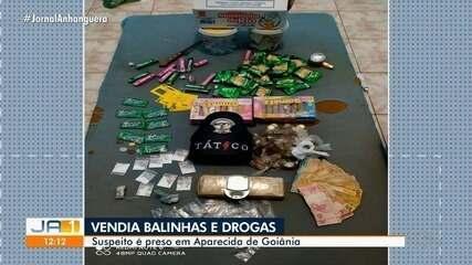 Homem é preso suspeito de traficar drogas se passando por vendedor de balas