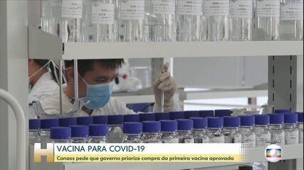 Conass pede que governo priorize compra da primeira vacina contra Covid-19 aprovada