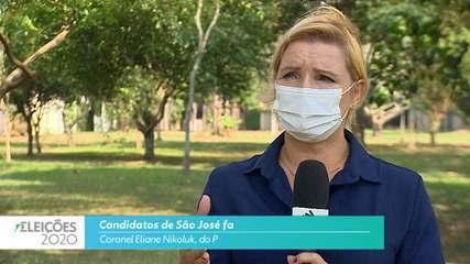 Candidata Coronel Eliane Nikoluk (PL) fala sobre empregos para cidade de São José