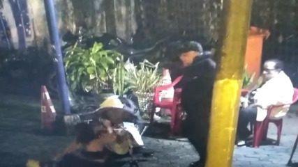 Mulher é agredida por homem com cabeçada e soco em São Sebastião, SP