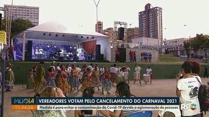 Vereadores de Foz do Iguaçu votam pelo cancelamento do Carnaval 2021
