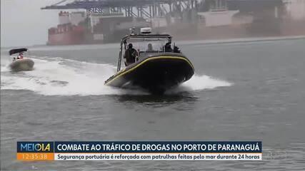 Aumenta a fiscalização contra o tráfico de drogas no Porto do Paranaguá