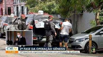 Ministério Público desarticula organização criminosa com participação de policiais