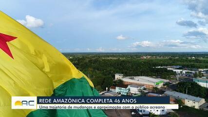 Rede Amazônica completa 46 anos no Acre