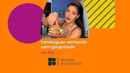 Flay ensina a fazer Hambúrguer recheado com Gorgonzola