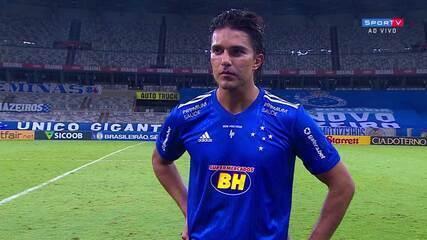 Marcelo Moreno cita as chances criadas e pede mais agressividade nas finalizações