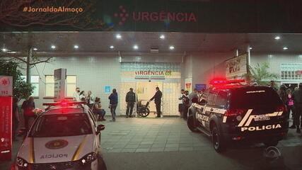 Tumulto com disparo de arma ocorre em frente ao Hospital Cristo Redentor, em Porto Alegre