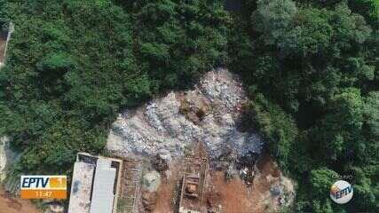 Moradores denunciam aterro clandestino em área de preservação natural em Ribeirão Preto