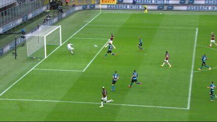 Os gols de Internazionale 1 x 2 Milan pelo Campeonato Italiano