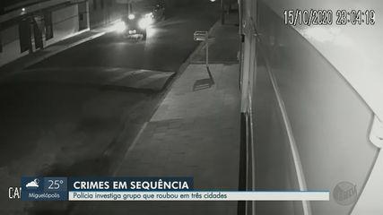 Polícia procura grupo que roubou em três cidades da região de Ribeirão Preto