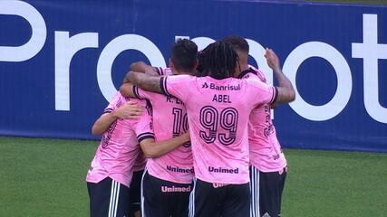 Melhores momentos: Internacional 2 x 0 Vasco, pela 17ª rodada do Brasileirão