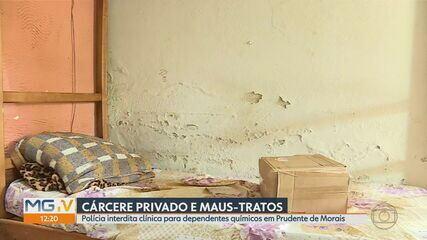 Clínica de recuperação de dependentes químicos é interditada em Prudente de Morais