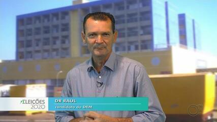 Candidato Dr Raul fala sobre as propostas para a saúde em Bauru