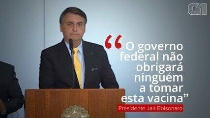Bolsonaro diz que vacinação contra a Covid-19 não será obrigatória