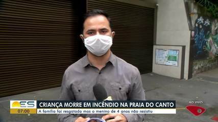Morre criança vítima de incêndio dentro de apartamento na Praia do Canto