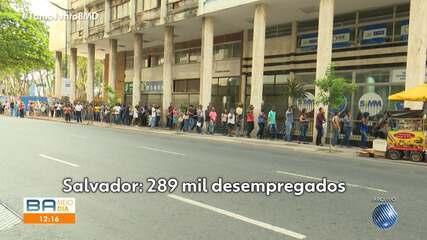 Salvador tem a segunda maior taxa de desempregados do país; candidatos comentam o problema