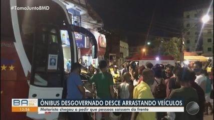 Acidente grave deixa pelo menos sete pessoas feridas na cidade de Candeias