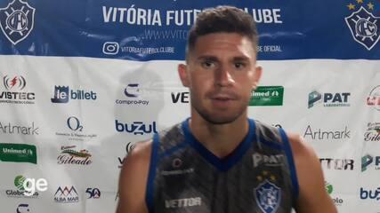 João Denoni fala sobre a derrota do Vitória-ES para o Goiânia
