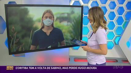 Coritiba treina para enfrentar o Ceará