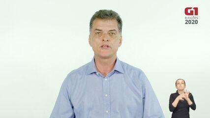 Dr. Lapena (Patriota) fala de suas propostas para a segurança em Araraquara