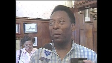 Pelé comenta o fato de ter sido recusado pelo Sport