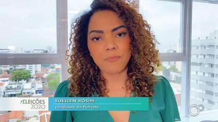 Candidata Suéllen Rosim fala sobre as propostas para a saúde em Bauru