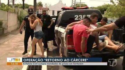 Operação 'Retorno ao Cárcere' cumpre mandados de prisão em Santarém