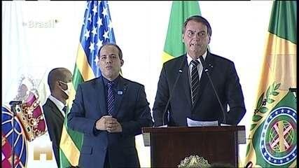 Bolsonaro afirma que o Brasil não aumentou impostos durante a pandemia