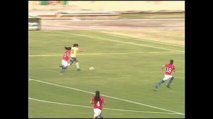 Seleção feminina vence o Chile por 3 a 0 em Maceió