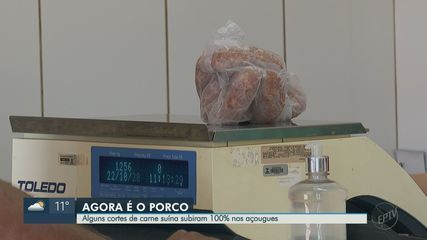 Preço da carne suína dobra e açougues têm até dificuldade de comprar de frigoríficos