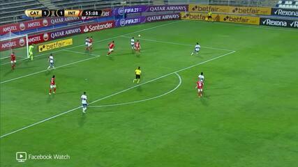 Melhores momentos de Universidad Católica 2 x 1 Internacional pela Taça Libertadores