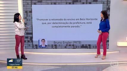 Fato ou Fake analisou declaração do candidato à prefeitura de BH, Bruno Engler