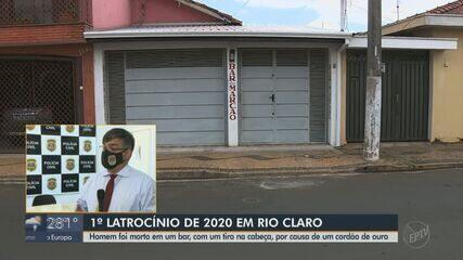 Homem é morto com tiro na cabeça por causa de cordão de ouro em Rio Claro