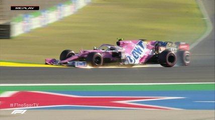 Verstappen e Stroll batem em segundo treino do GP de Portugal