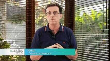 Candidato Valle fala sobre as propostas para a saúde em Bauru